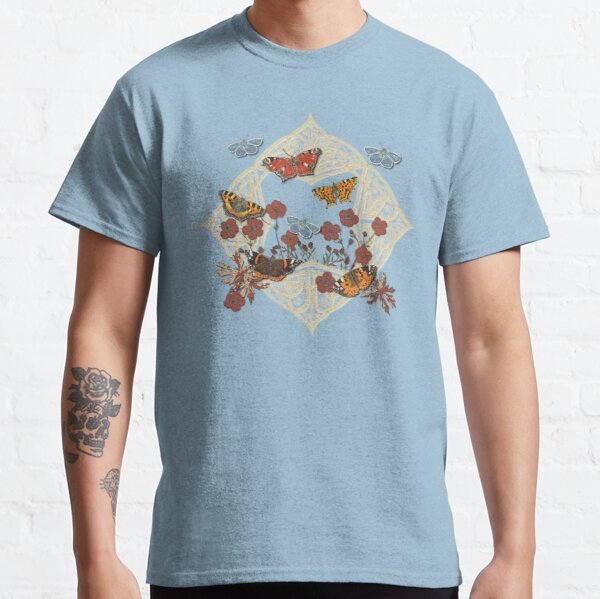 Butterfly Celtic Garden Fantasy Classic T-Shirt