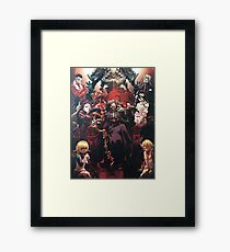 Floor Guardians - overlord characters Framed Print