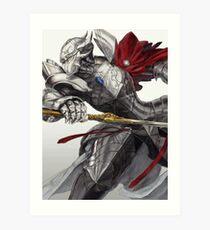 Twin Swords of Slashing Death Art Print