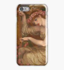 Dante Gabriel Rossetti - A Sea-Spell , Portrait Of A Woman iPhone Case/Skin