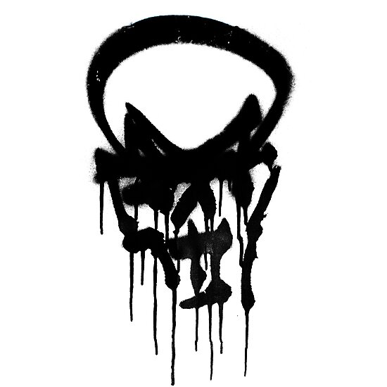 Graffiti skull by Nicklas Gustafsson