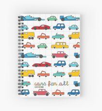 Cars for all Spiral Notebook
