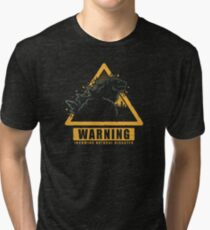 Incoming Natural Disaster! Tri-blend T-Shirt
