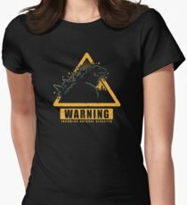 Incoming Natural Disaster! Womens Fitted T-Shirt