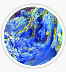 Landscape Abstract Sticker