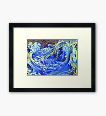 Landscape Abstract Framed Print