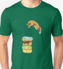 Donut Foxhole (Transparent Background) T-Shirt