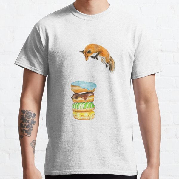 Donut Foxhole (Transparent Background) Classic T-Shirt