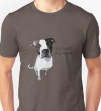 Big Head. Big Heart Unisex T-Shirt