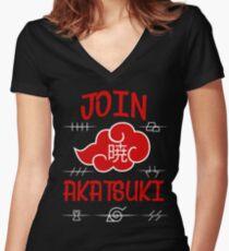 Join Akatsuki Women's Fitted V-Neck T-Shirt
