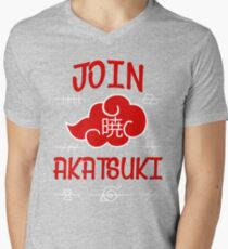 Join Akatsuki Mens V-Neck T-Shirt