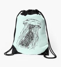 jellyfish Drawstring Bag