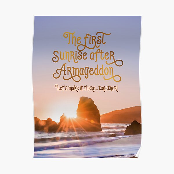 THE FIRST SUNRISE AFTER ARMAGEDDON Poster