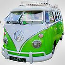 Green Camper by Vicki Spindler (VHS Photography)