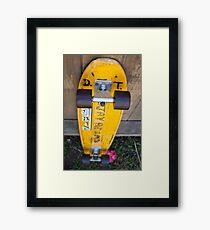 Jay Adams' Orignal Z-Flex Board Framed Print