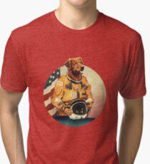 Astronimals: L. Brador (Circular) Tri-blend T-Shirt