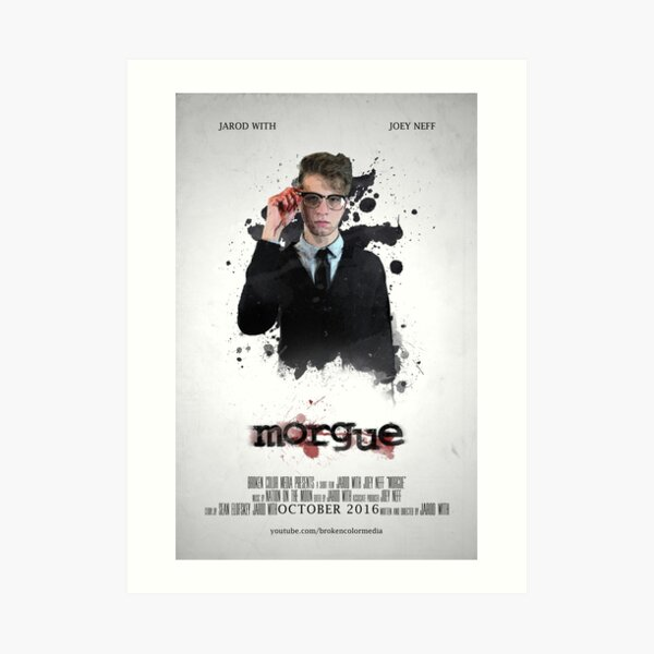 MORGUE Poster -- Donnie Art Print