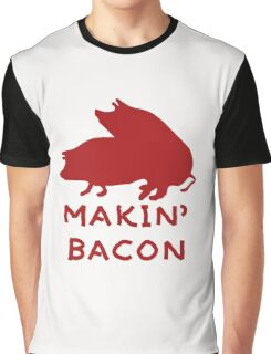 Bacon Lovers Graphic T-Shirt