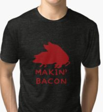Bacon Lovers Tri-blend T-Shirt