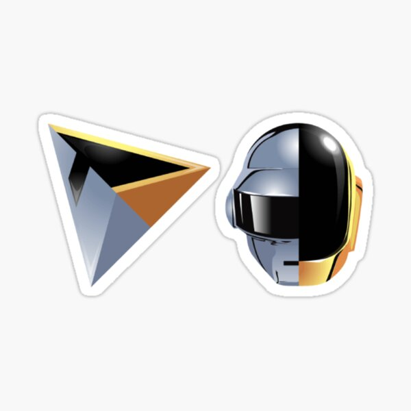 Daft Punk helmet Sticker