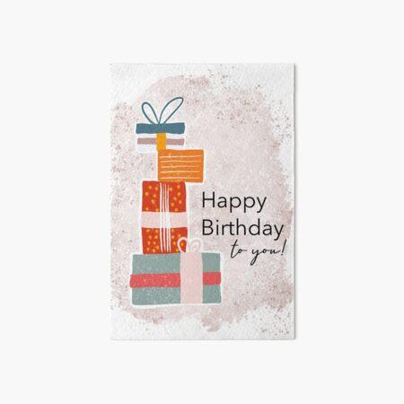 Happy Birthday to you Galeriedruck