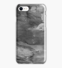 Black Watercolor Ombre iPhone Case/Skin