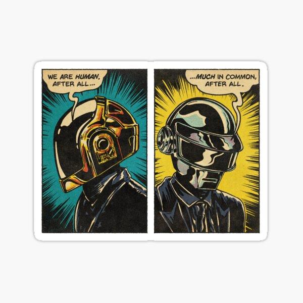 Human After All - Daft Punk Sticker