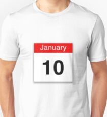 January 10th Unisex T-Shirt