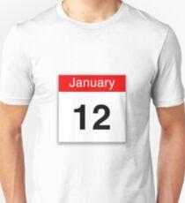 January 12th T-Shirt