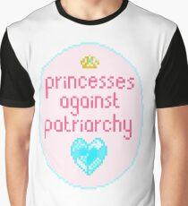 Princesses against Patriarchy Graphic T-Shirt