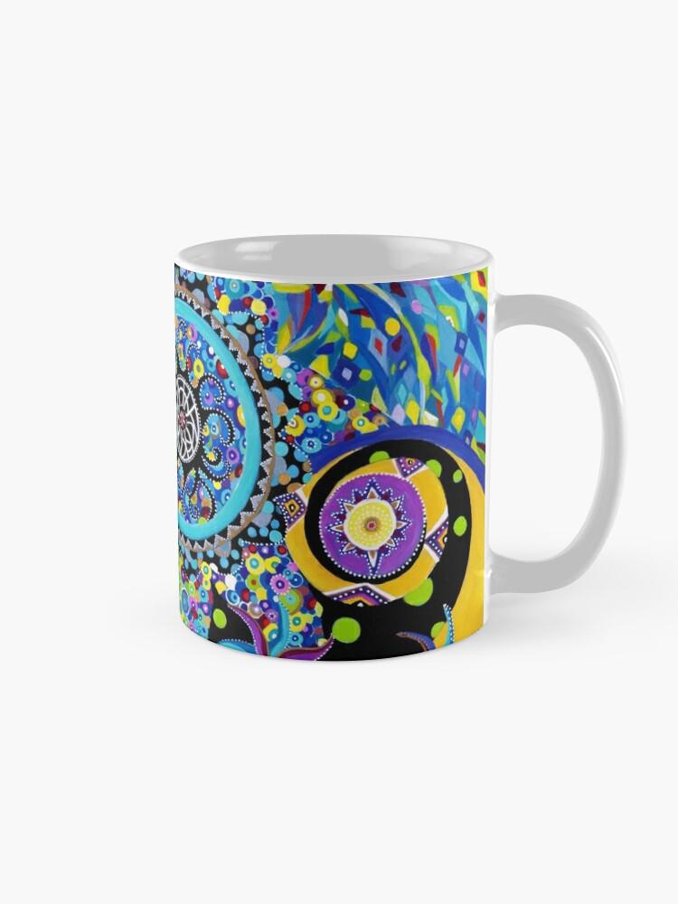 Mug ''Matrice Aquatique': autre vue