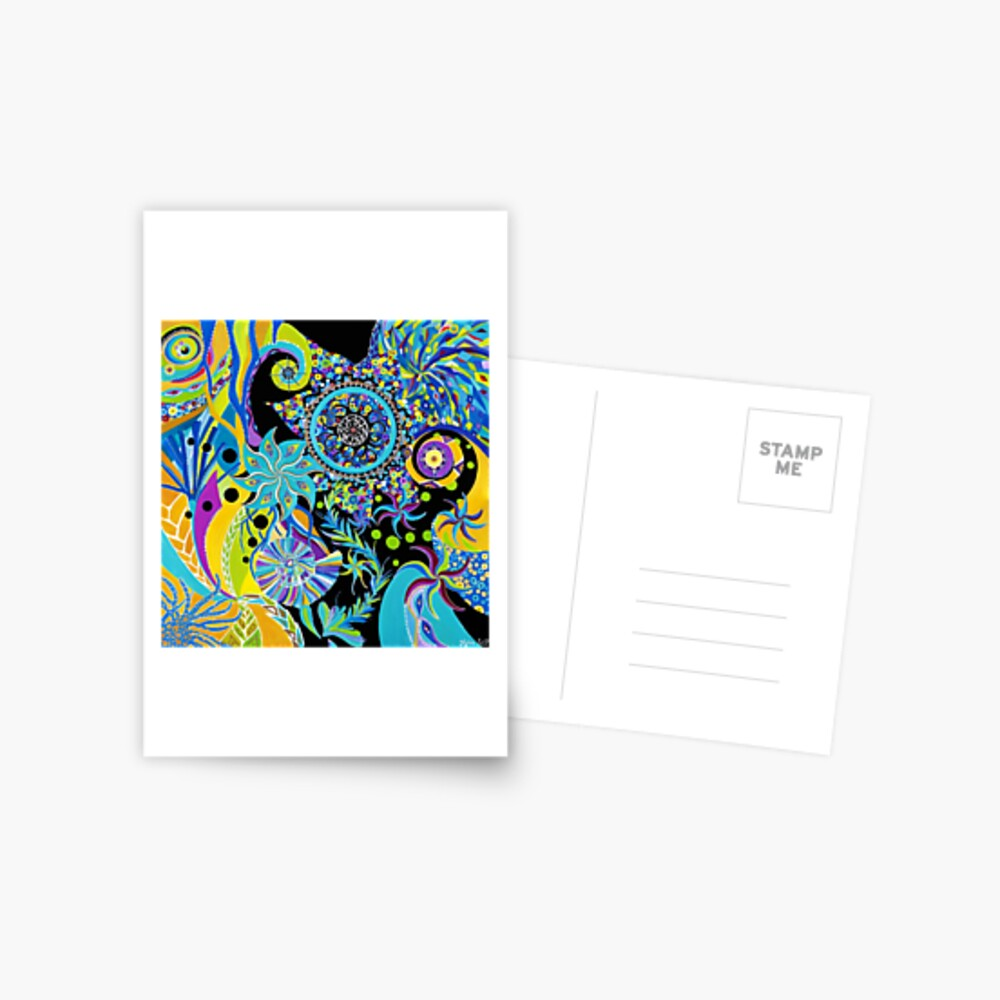 Carte postale «Matrice Aquatique»