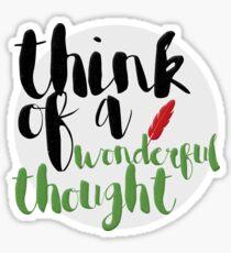 Wonderful Thought Sticker