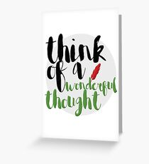 Wonderful Thought Greeting Card
