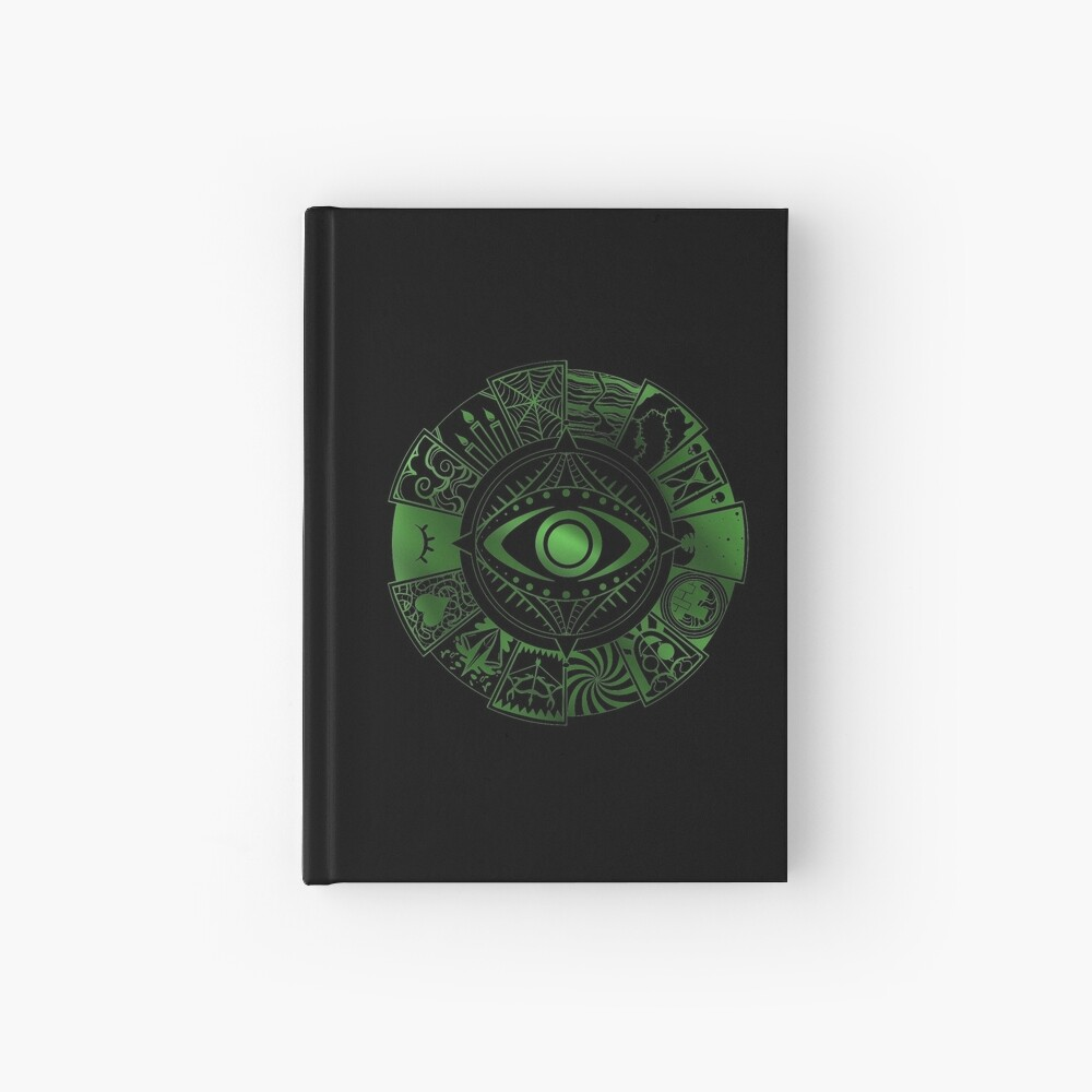 Fears Wheel Hardcover Journal