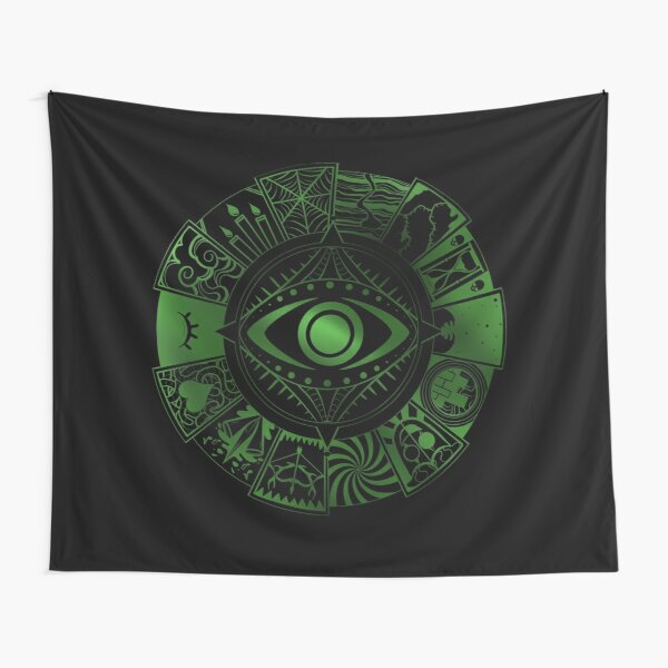 Fears Wheel Tapestry