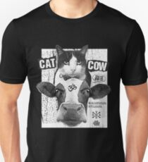 Yoga: Cat Cow Straight Edge Matinee  T-Shirt