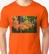 Impressions of Forests - The First Red Maple Leaves T-Shirt