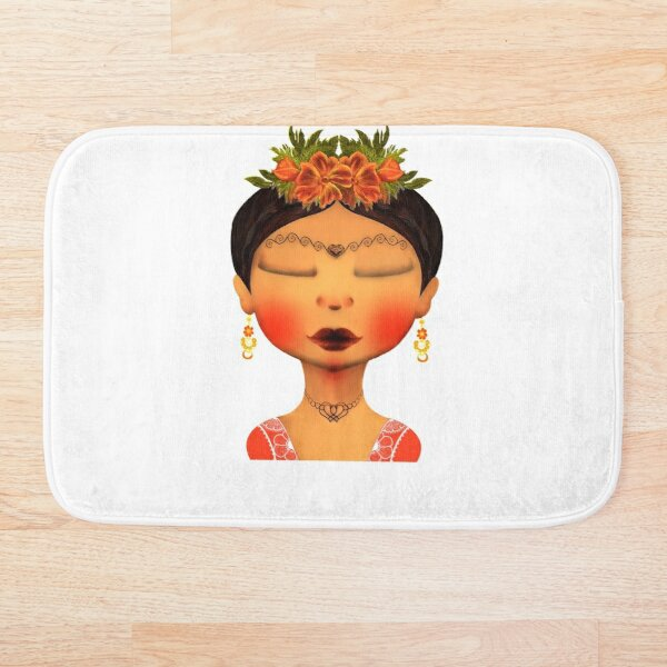 WOMAN OF THE INDIA Bath Mat