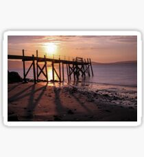 Pier at Holywood, Belfast Lough Sticker