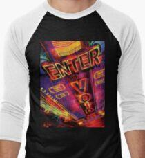 Camiseta ¾ bicolor para hombre Entrar en el vacío