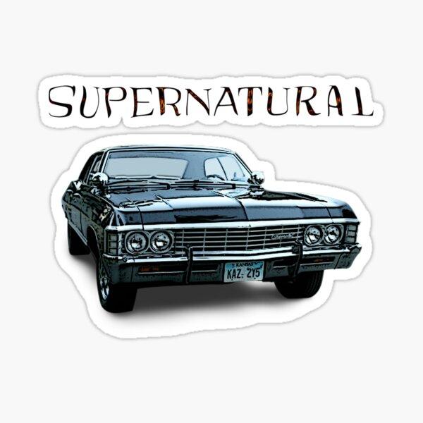 Supernatural Impala Sticker