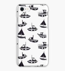 Fishing Boats iPhone Case/Skin