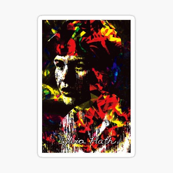 Sylvia Plath Sticker