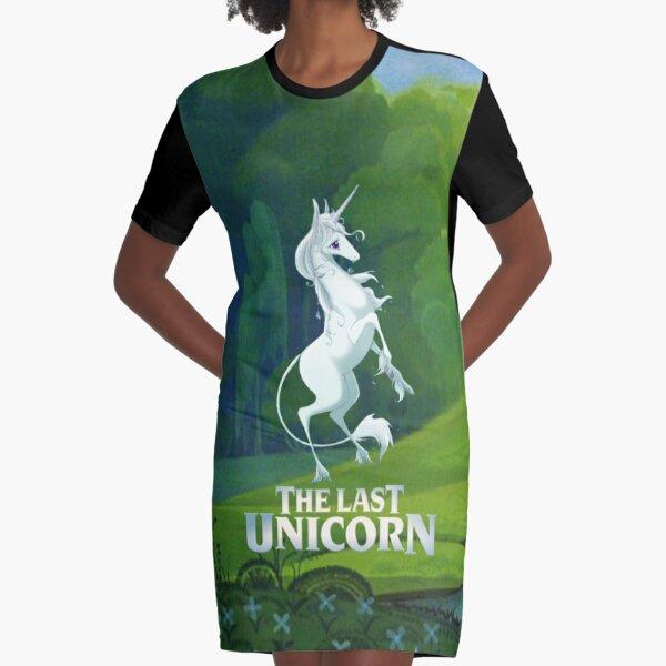 The Last Unicorn Graphic T-Shirt Dress