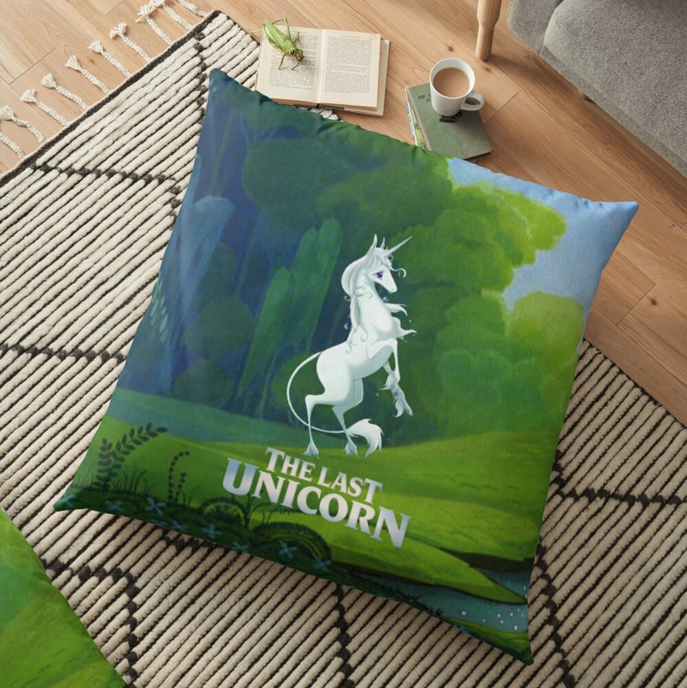 The Last Unicorn Floor Pillow