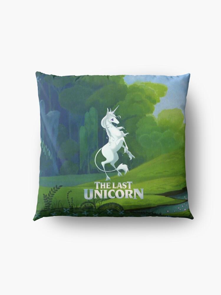 Alternate view of The Last Unicorn Floor Pillow