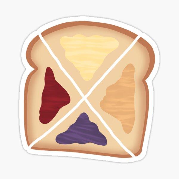 Moony toast  Sticker