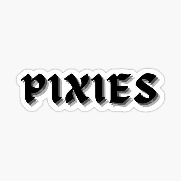 Style gothique de Pixies Sticker