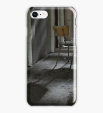 Lonely chair iPhone Case/Skin